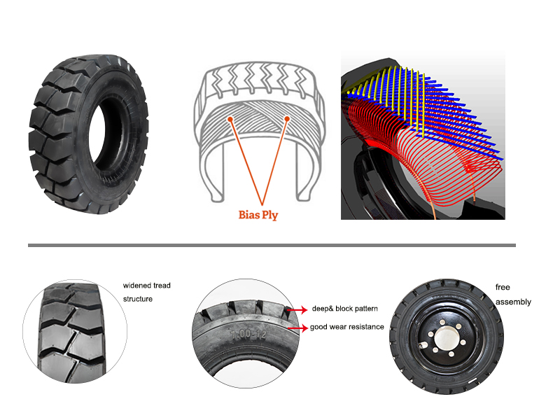 Forklift-pneumatic-Tire